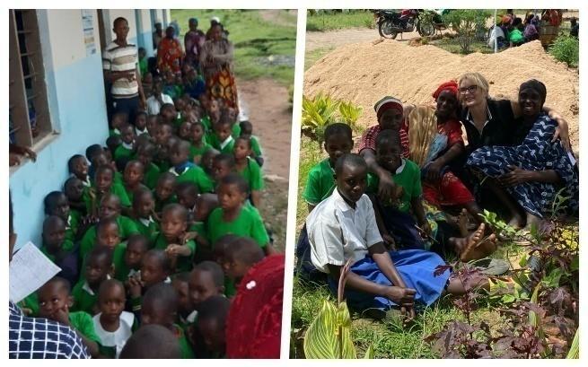 Dzieci z wioski Kwamneke