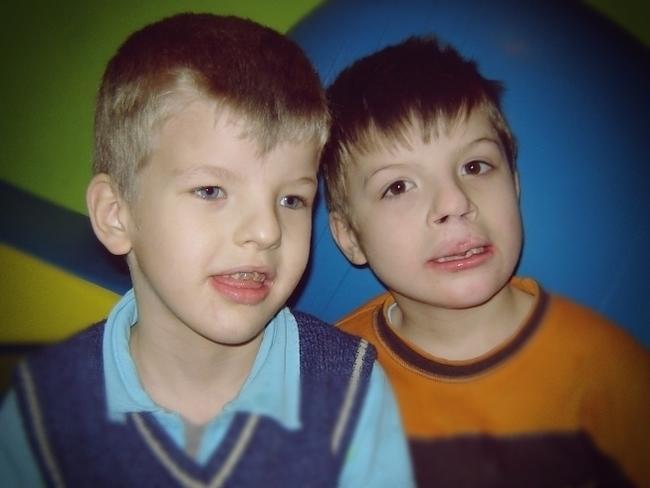 Aleksander i Oliwier Łebek