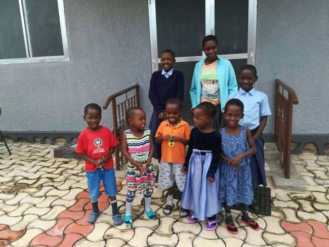 Dom dziecka w Bukanga w Tanzanii.