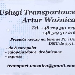Usługi transportowe Artur Woźnica