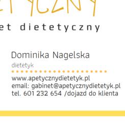 Apetyczny- gabinet dietetyczny Dominika Nagelska