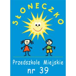 """Miejskie Przedszkole nr 39 """"Słoneczko"""""""