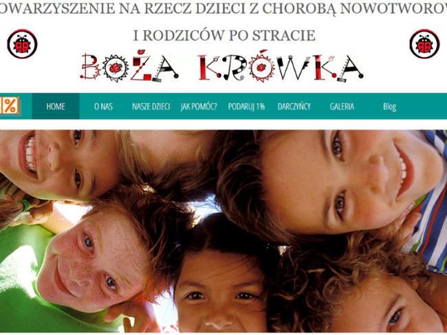 Stowarzyszenie na Rzecz Dzieci z Chorobą Nowotworową i Rodziców po Stracie Boża Krówka