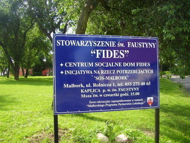 """Stowarzyszenie św. Faustyny """"FIDES"""""""