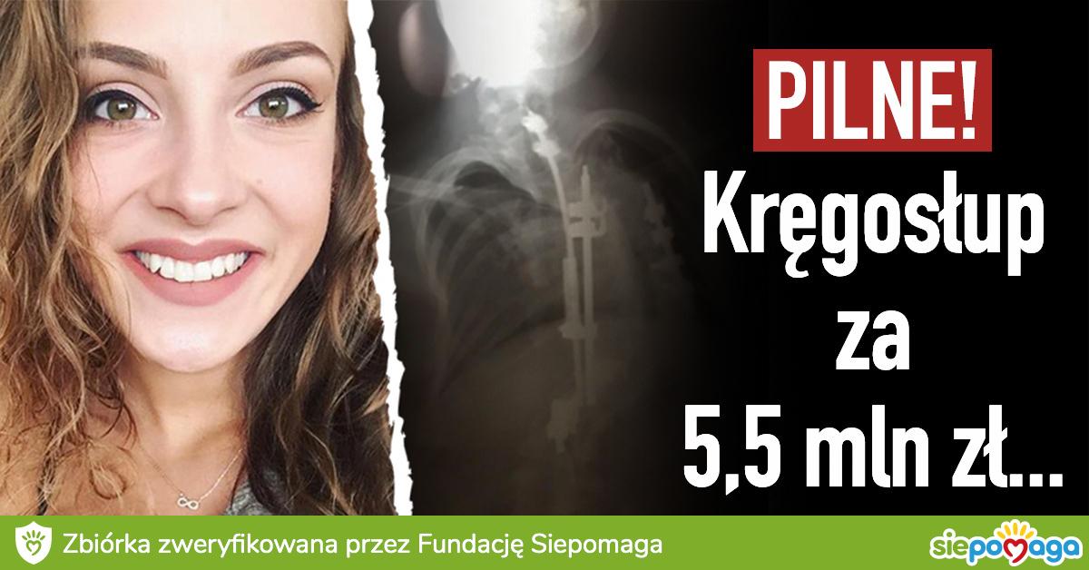 Maja Kapłon - zbiórka charytatywna | Siepomaga.pl