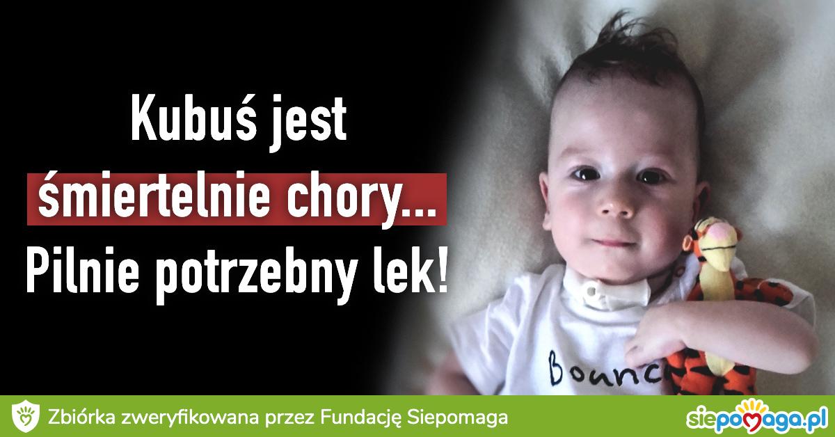 Kubuś Suchodoła - zbiórka charytatywna   Siepomaga.pl